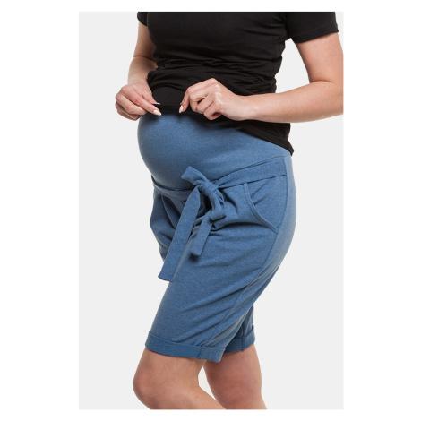 Těhotenské bermudy Lena II jeans