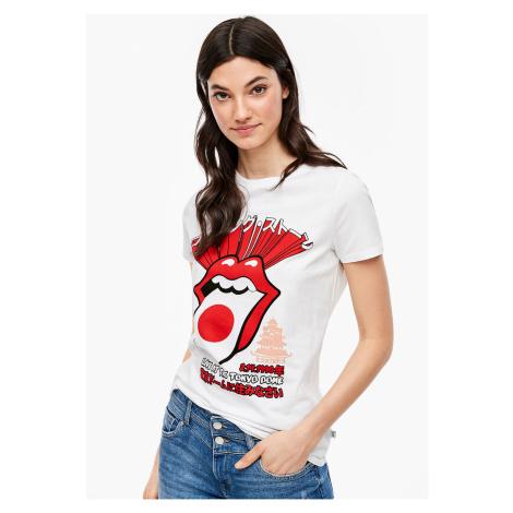 s.Oliver Q/S tričko s kapelou Rolling Stones 41.003.32.5652/01D0