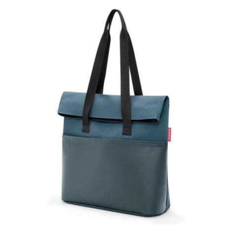 Taška přes rameno Reisenthel Foldbag Canvas blue