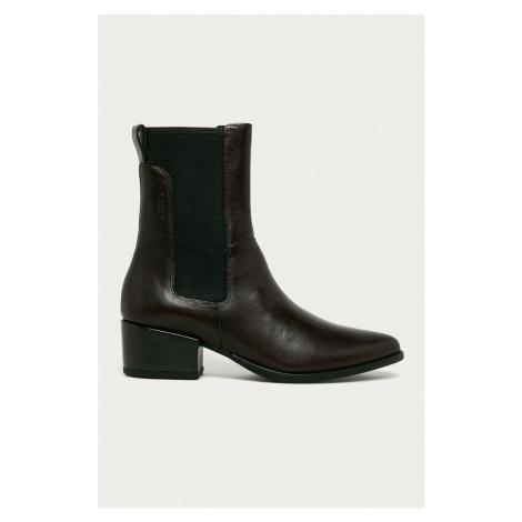 Vagabond - Kožené kotníkové boty Marja