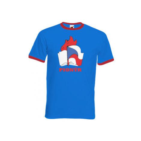 Pánské tričko s kontrastními lemy Pionýr