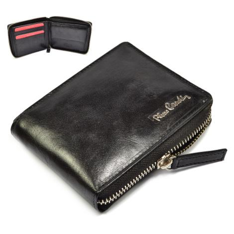 Černá peněženka pánská na zip Pierre Cardin