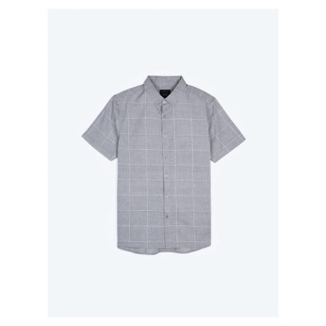 GATE Kostkovaná košile regular fit