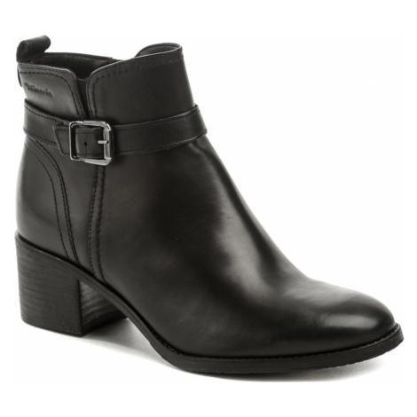 Tamaris 1-25034-25 black dámské kotníčkové boty