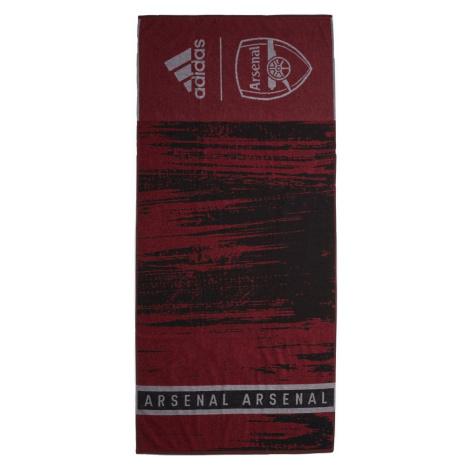 Ručník adidas ARSENAL FC COTTON Červená / Černá