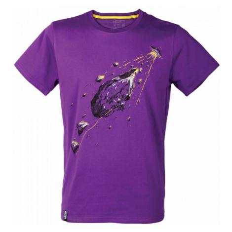 Pánské tričko Singing Rock Rocket fialová