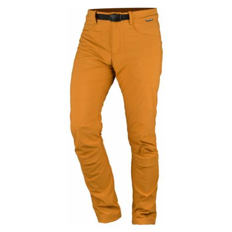 NORTHFINDER BRELIEN Pánské outdoorové kalhoty NO-3702OR478 žlutá