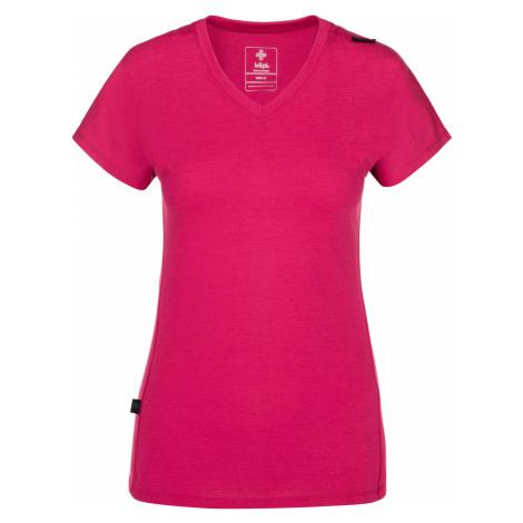 KILPI Dámské funkční tričko MERIN-W NL0010KIPNK Růžová