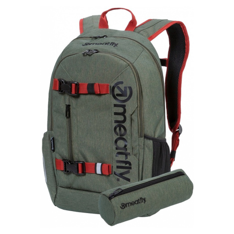 Batoh Meatfly Basejumper 6 f heather olive 22l