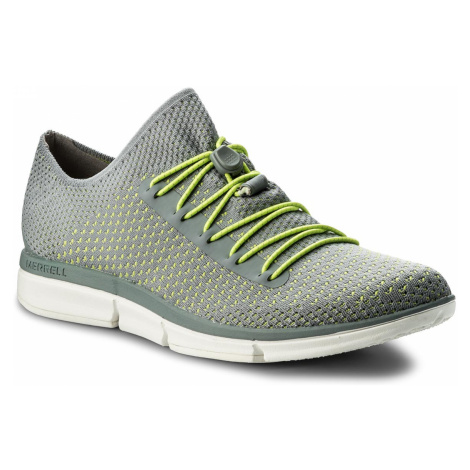 Polobotky MERRELL - Zoe Sojourn Lace Knit Q2 J93782 Monument