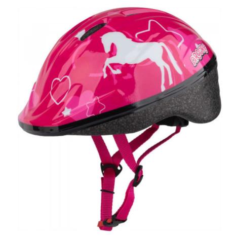 Arcore WAPI růžová - Dívčí cyklistická přilba