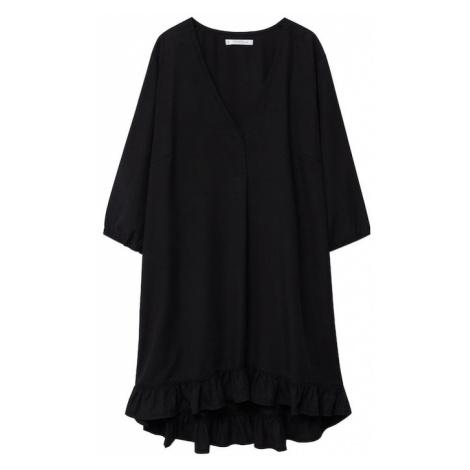 MANGO Šaty černá