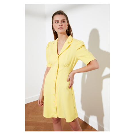Trendyol Yellow Shirt Dress