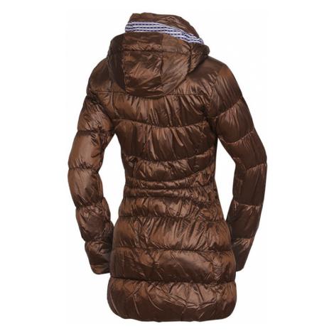 NORTHFINDER DULCENA Dámský zimní kabát BU-45391SP293 hnědá