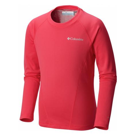 Funkční tričko Columbia Midweight Crew 2 - červená