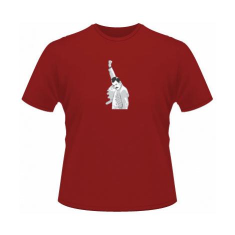 Pánské tričko na tělo Freddie Mercury