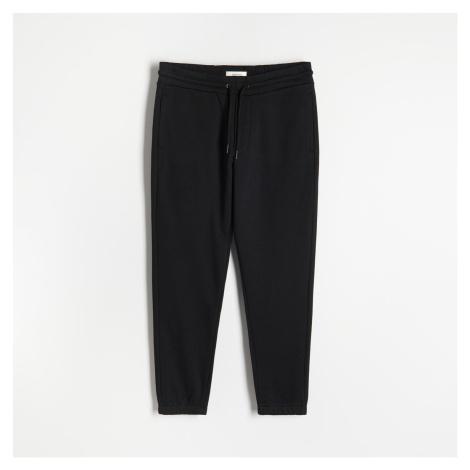 Reserved - Tepláky s vysokým podílem bavlny - Černý