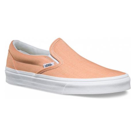 VANS Classic SLIP-ON (Chambray) Oranžová Bílá
