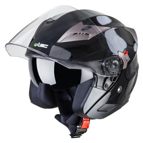 Moto Přilba W-Tec Ym-627 Matt Black-Bronze