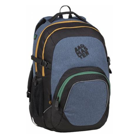 Studentský batoh pro kluky i holky BAGMASTER MATRIX 9 B BLUE
