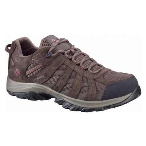 Columbia CANYON POINT WATERPROOF hnědá - Pánská treková obuv