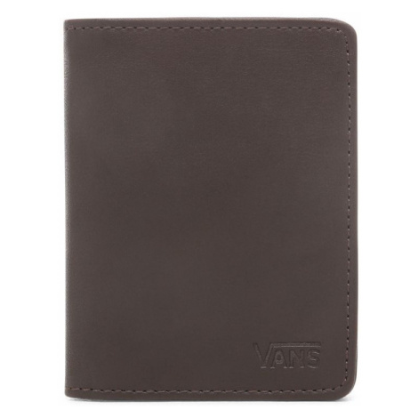 Peněženka Vans Drop V Card Holder dark brown