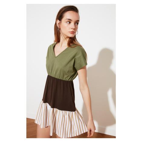 dámské šaty Trendyol Multicolored