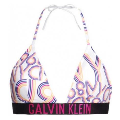 Dámská plavková podprsenka Calvin Klein KW00888 | vzorované