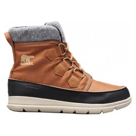 Sorel EXPLORER CARNIVAl hnědá - Dámská zimní obuv