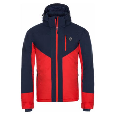 KILPI Pánská lyžařská bunda - větší velikosti TAUREN-M LMX042KIRED Červená