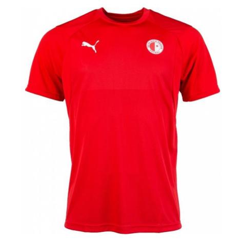 Puma LIGA TRAINING JSY SLAVIA červená - Pánské sportovní triko