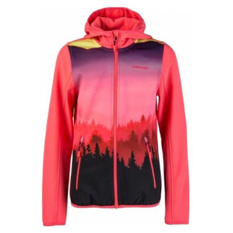 Head POLK růžová - Dětská softshellová bunda