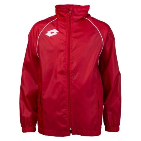 Lotto JACKET DELTA WN JR červená - Chlapecká sportovní bunda