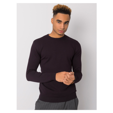 Dark purple sweater for the man LIWALI Fashionhunters