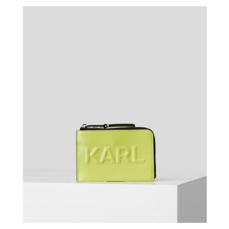 Pouzdro Na Platební Karty Karl Lagerfeld Karl Seven Emboss Folded Ch