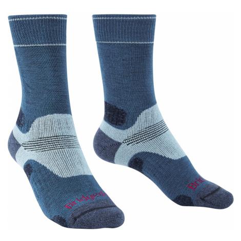 Dámské turistické ponožky Bridgedale Hike MW Merino Performance Blue Sky