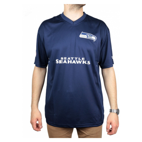 Pánské tričko New Era Wordmark Oversized NFL Seattle Seahawks