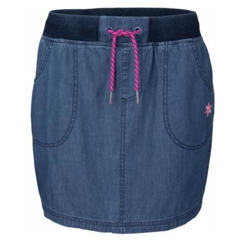 Willard KAZIA modrá - Dámská sukně džínového vzhledu