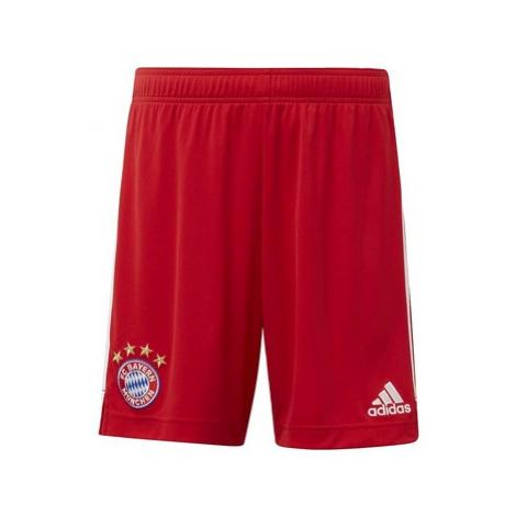 Adidas Domácí šortky FC Bayern Červená
