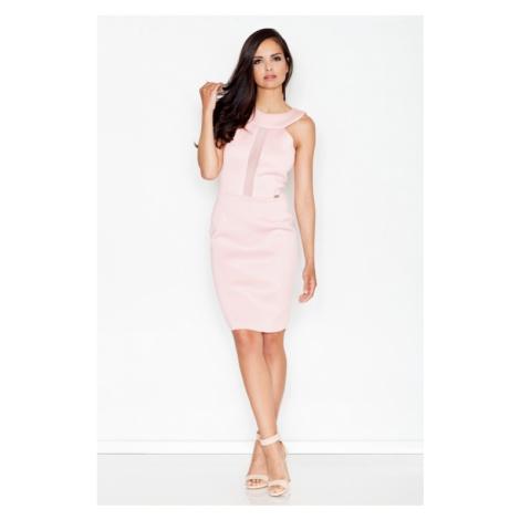 Dámské šaty M372 pink Figl