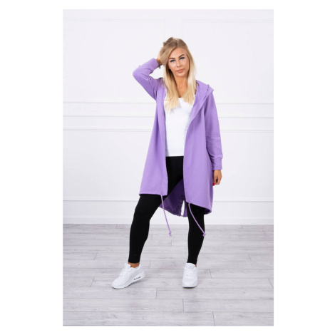 Cardigan with print purple Kesi