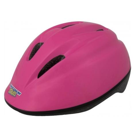 Arcore STICKEE růžová - Dětská cyklistická přilba