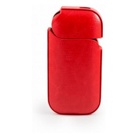 Kožený obal pro Iqos - červený
