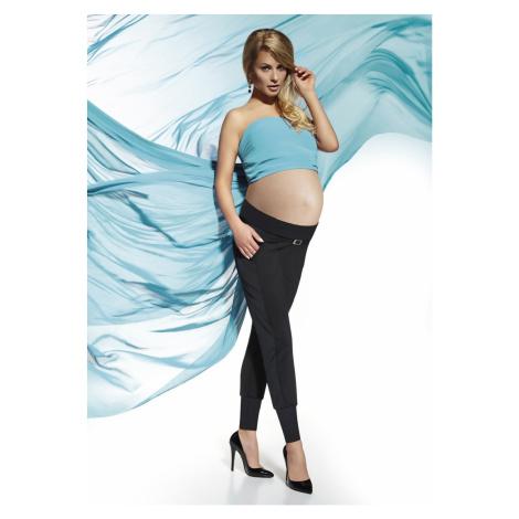 Těhotenské legíny Catrine - Bas Bleu Černá