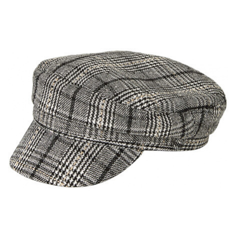 Pieces Dámská čepice PCHAVANNA BAKER BOY HAT BOX Black Checks