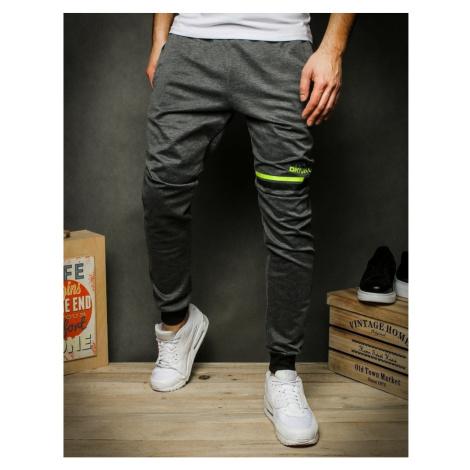 Dark gray men's sweatpants UX2411 DStreet
