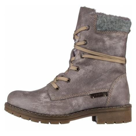 RIEKER, Kotníčková obuv  Y9122-42 šedá EU 37