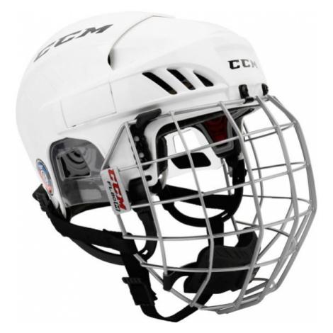 CCM FL60C SR COMBO bílá - Hokejová helma