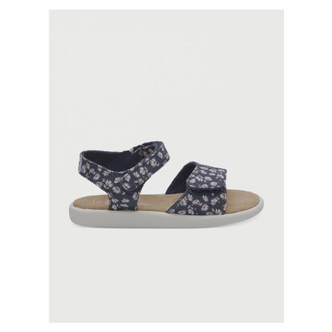 Sandály Toms Navy Ditzy Daisy Tn Strapy Sand Modrá