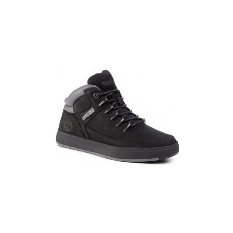Timberland Sneakersy Davis Square Mid Hiker TB0A1UZK0011 Černá